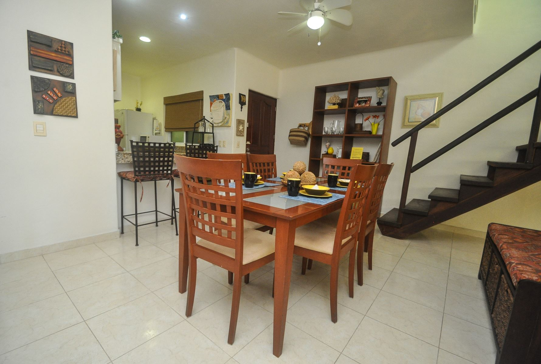 Floor Plan for Lovely penthouse with rooftop terrace located downtown Playa Del Carmen