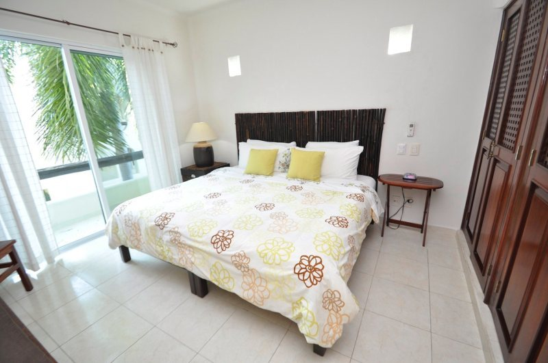 Playa Kaan Condo Master Bedroom